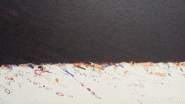Arte: Bernd Berner, expresionismo abstracto, litografía de 1996 - Foto 10 - 168102432