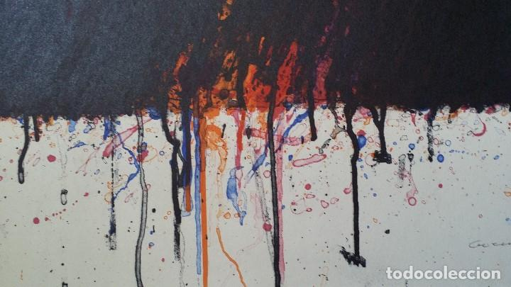Arte: Bernd Berner, expresionismo abstracto, litografía de 1996 - Foto 14 - 168102432