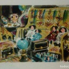Arte: VIVES FIERRO * ORIGINAL NUMERADA Y FIRMADA POR EL ARTISTA. Lote 168226104