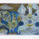 Arte: AGUSTIN UBEDA, LITOGRAFIA FIRMADA A LAPIZ Y EA.. Lote 168481368