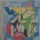 Arte: ART DE FRANCE IV, P. BERÈS, A. CHASTEL 1964. 2 LITOGRAFÍAS ORIGINALES ANDRÉ MASSON Y PIERRE SOULAGES. Lote 168507800