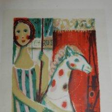 Arte: (M) LITOGRAFIA DE AGUILAR MORÉ 1957, LITOGRAFIA 1/25, 47X38 CM, SEÑALES DE USO NORMALES. Lote 168570932