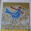 Arte: AGUSTIN UBEDA, LITOGRAFIA FIRMADA A LAPIZ Y EA.. Lote 168595156