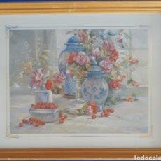Arte: GRABADO ENMARCADO R.LABAL. Lote 168674086