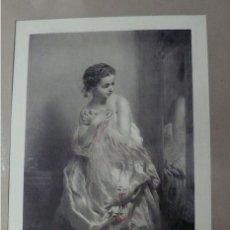 Arte: PRECIOSISIMA LITOGRAFIA LES ROSES D'AUTOMME. Lote 168723816