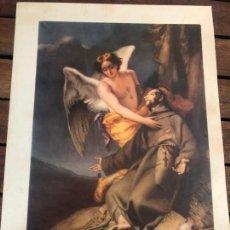 Arte: LAMINA LSAN FRANCISCO DE ASIS - MUSEO DEL PRADO - MEDIDA 35X24 CM. Lote 168729836