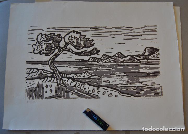 Arte: Litografia firmada. - Foto 2 - 168762050