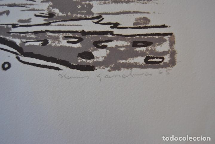 Arte: Litografia firmada. - Foto 6 - 168762050