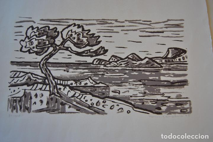 Arte: Litografia firmada. - Foto 8 - 168762050