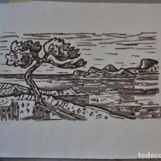 Arte: LITOGRAFIA FIRMADA.. Lote 168762050