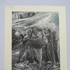 Arte: ORIGINAL LITOGRAFIA ILUMINADA DE EDOUARD LÉON LOUIS LEGRAND (1892-1970) FIRMADA Y NUMERADA : 01 / 30. Lote 169226420