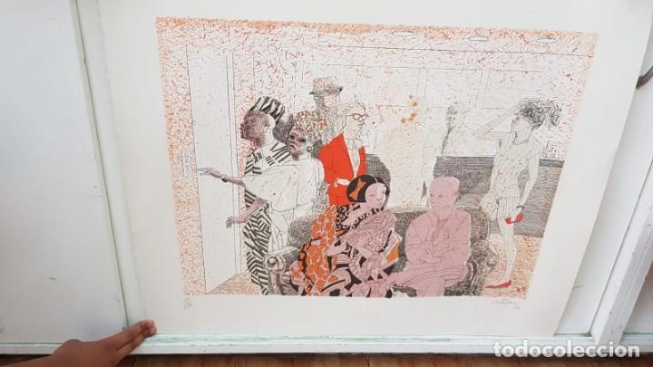 FRANCESC ARTIGAU, LITOGRAFÍA DEL AÑO 1988 (Arte - Litografías)