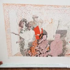Arte: FRANCESC ARTIGAU, LITOGRAFÍA DEL AÑO 1988. Lote 169733040
