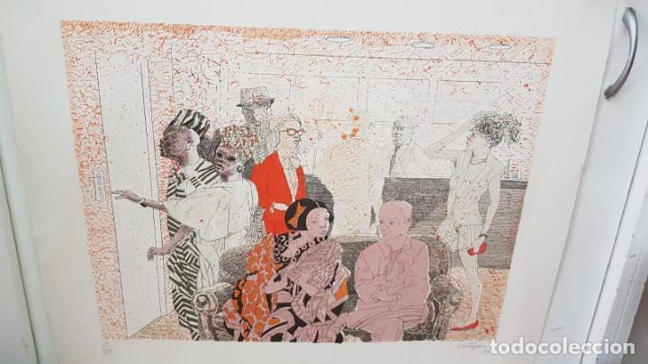Arte: Francesc Artigau, litografía del año 1988 - Foto 2 - 169733040