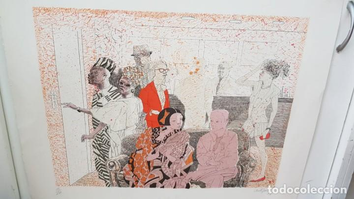 Arte: Francesc Artigau, litografía del año 1988 - Foto 4 - 169733040