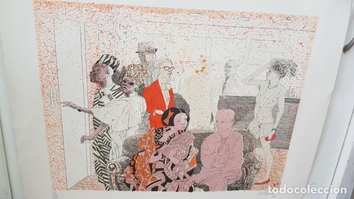 Arte: Francesc Artigau, litografía del año 1988 - Foto 8 - 169733040