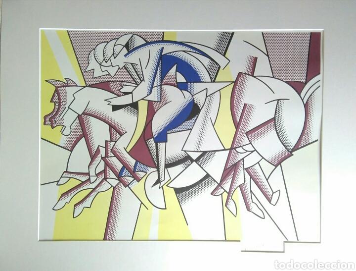 ROY LICHTENSTEIN LITOGRAFIA FIRMADA 1982 61X91 CM (Arte - Litografías)