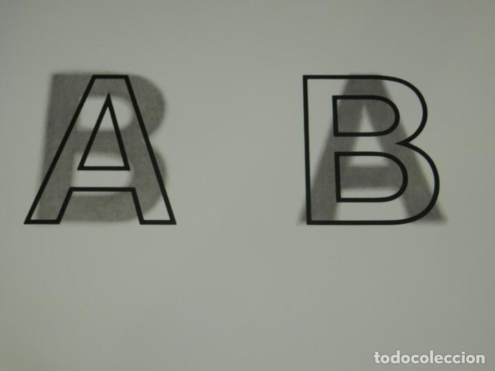Arte: (M) LITOGRAFIA ORIGINAL JOAN BROSSA - POEMA VISUAL A B PRUEBA DE AUTOR IV/V , FIRMADA - Foto 2 - 171102315