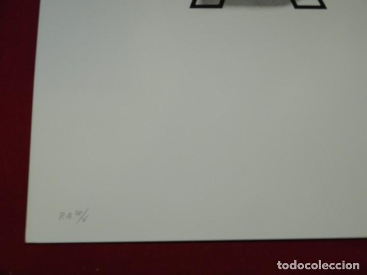Arte: (M) LITOGRAFIA ORIGINAL JOAN BROSSA - POEMA VISUAL A B PRUEBA DE AUTOR IV/V , FIRMADA - Foto 3 - 171102315