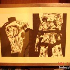 Arte: LITOGRAFÍA ANTONIO SAURA. Lote 171278258