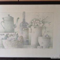 Arte: FRANCESC TODÓ LITOGRAFIA ORIGINAL FIRMADA Y NUMERADA. Lote 171708875