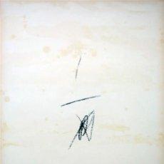 Arte: ANTONI TÀPIES. LITOGRAFÍA CARTONS, PAPERS, FUSTES I COLLAGES: DEL 1946 AL 1964. SALA GASPAR. 1964. Lote 171790689