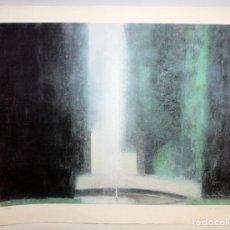 Arte: JULI RAMIS - LITOGRAFIA - FUENTE - FIRMADA A LAPIZ.. Lote 172006612