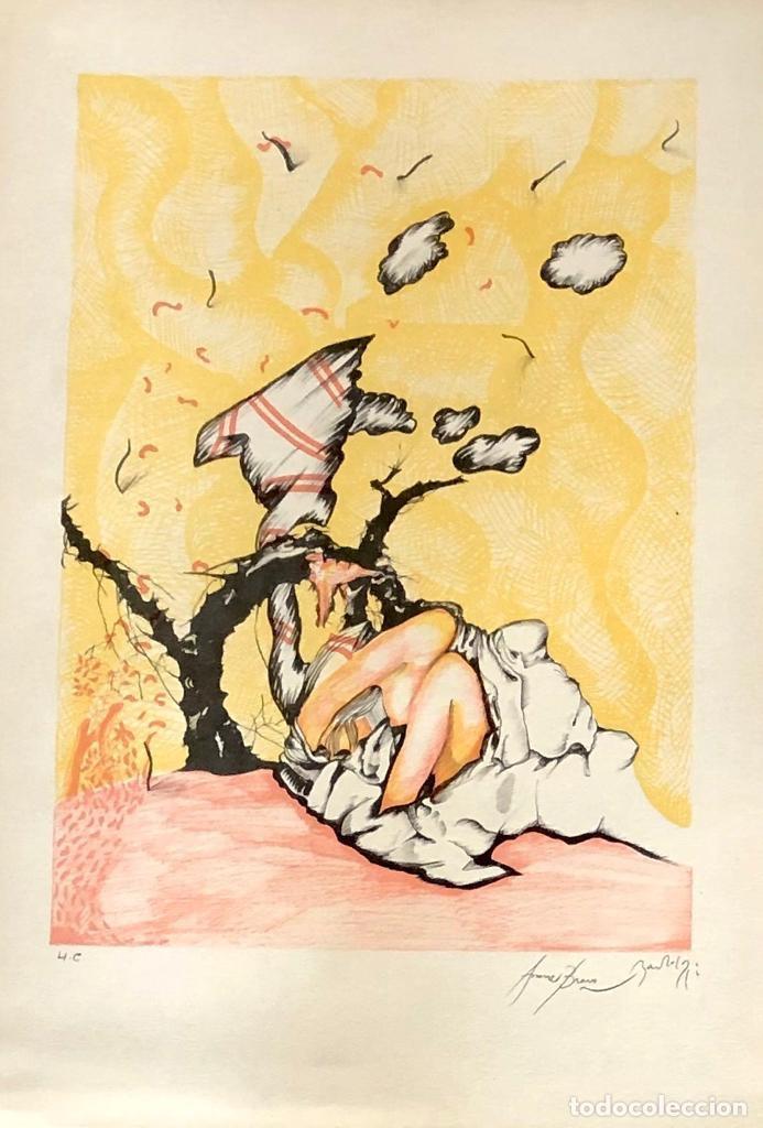 EDUARD ARRANZ BRAVO Y BARTOLOZZI - LITOGRAFÍA - (Arte - Litografías)