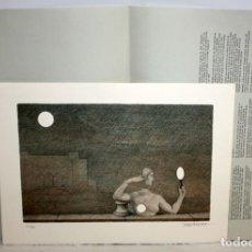 Arte: JOSEP MARIA SUBIRACHS - LITOGRAFIA - 10/300 - FIRMADA A LAPIZ - 1983.. Lote 172058539