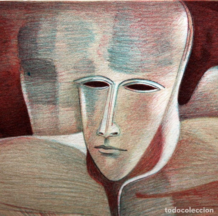 Arte: ANDREU MARTRO - LITOGRAFIA - 4/25 - DEDICADA A MACIA ALAVEDRA. - Foto 3 - 172155324