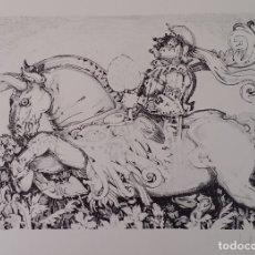 Arte: RAFFAELE DE ROSA, LITOGRAFÍA FIRMADA A LÁPIZ. Lote 172565599