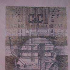 Arte: XAVIER NOGUERA. (BARCELONA 1942). LITOGRAFÍA DE 28X37 ENMARCADA EN 38X48. DOBLE CRISTAL. 11/200. Lote 172948035