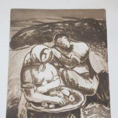 Arte: LITOGRAFIA FIRMADA Y NUMERADA. Lote 173084708