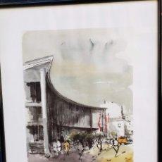 Arte: LITOGRAFIA Nº 13 DE 90 REALIZADA POR JOSEP MARTINEZ LOZANO PARA LA CAMBRA DE COMERÇ DE TERRASSA. Lote 173447988