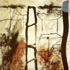 Arte: JOSEP GUINOVART BERTRAN (1927 - 2007) LITOGRAFIA ORIGINAL FIRMADA A MANO. TIRAJE 3/150. Lote 173648207