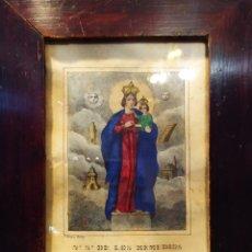 Arte: LITOGRAFÍA, DEL XIX, N. S. DE LOS REMEDIOS, MALAGA. Lote 174194993