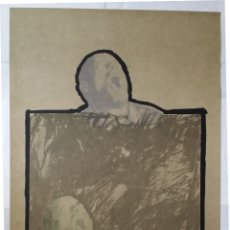 Arte: RAFAEL CANOGAR: COMPOSICIÓN CON CABEZA, LITOGRAFÍA CON FOTOLITOS, DE 1975. Lote 174326794