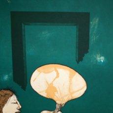 Arte: EDUARD ARRANZ BRAVO (BARCELONA, 1961) LITOGRAFIA ORIGINAL FIRMADA A LÁPIZ. TIRAJE: 49/125. Lote 174431043