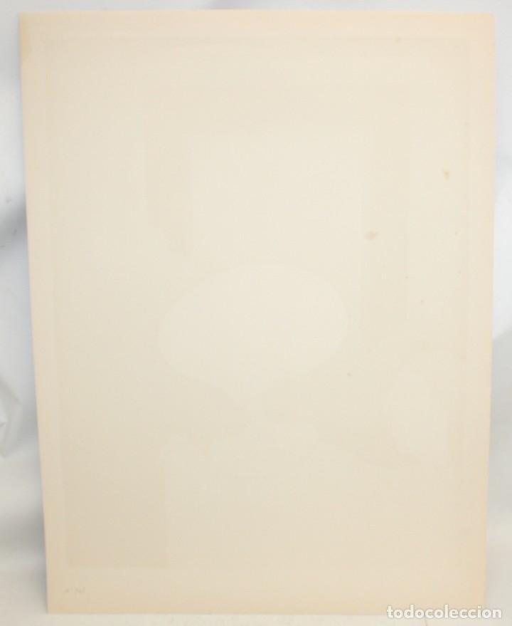 Arte: EDUARD ARRANZ BRAVO (BARCELONA, 1961) LITOGRAFIA ORIGINAL FIRMADA A LÁPIZ. TIRAJE: 49/125 - Foto 9 - 174431043
