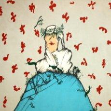 Arte: EDUARD ARRANZ BRAVO (BARCELONA, 1961) LITOGRAFIA ORIGINAL FIRMADA A LÁPIZ. TIRAJE: 49/125. Lote 174431778