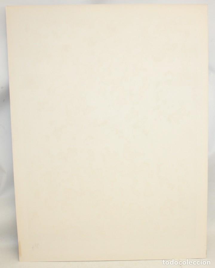 Arte: EDUARD ARRANZ BRAVO (BARCELONA, 1961) LITOGRAFIA ORIGINAL FIRMADA A LÁPIZ. TIRAJE: 49/125 - Foto 6 - 174431778