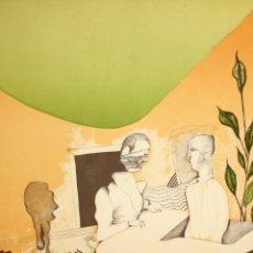 Arte: EDUARD ARRANZ BRAVO (BARCELONA, 1961) LITOGRAFIA ORIGINAL FIRMADA A LÁPIZ. TIRAJE: 49/125. Lote 174431967
