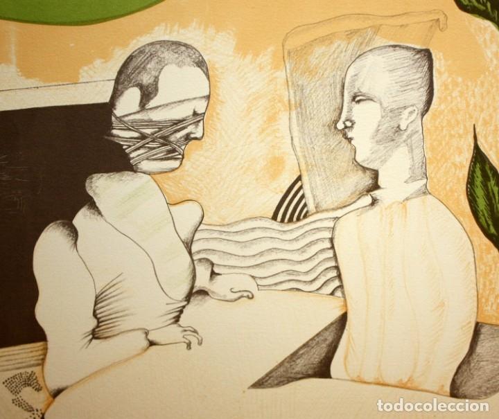 Arte: EDUARD ARRANZ BRAVO (BARCELONA, 1961) LITOGRAFIA ORIGINAL FIRMADA A LÁPIZ. TIRAJE: 49/125 - Foto 3 - 174431967