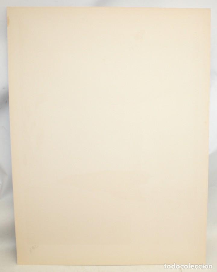 Arte: EDUARD ARRANZ BRAVO (BARCELONA, 1961) LITOGRAFIA ORIGINAL FIRMADA A LÁPIZ. TIRAJE: 49/125 - Foto 7 - 174431967