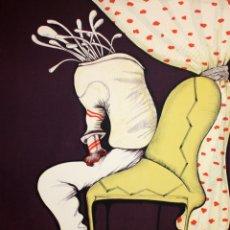 Arte: EDUARD ARRANZ BRAVO (BARCELONA, 1961) LITOGRAFIA ORIGINAL FIRMADA A LÁPIZ. TIRAJE: 49/125. Lote 174432030
