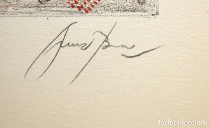 Arte: EDUARD ARRANZ BRAVO (BARCELONA, 1961) LITOGRAFIA ORIGINAL FIRMADA A LÁPIZ. TIRAJE: 49/125 - Foto 6 - 174432030