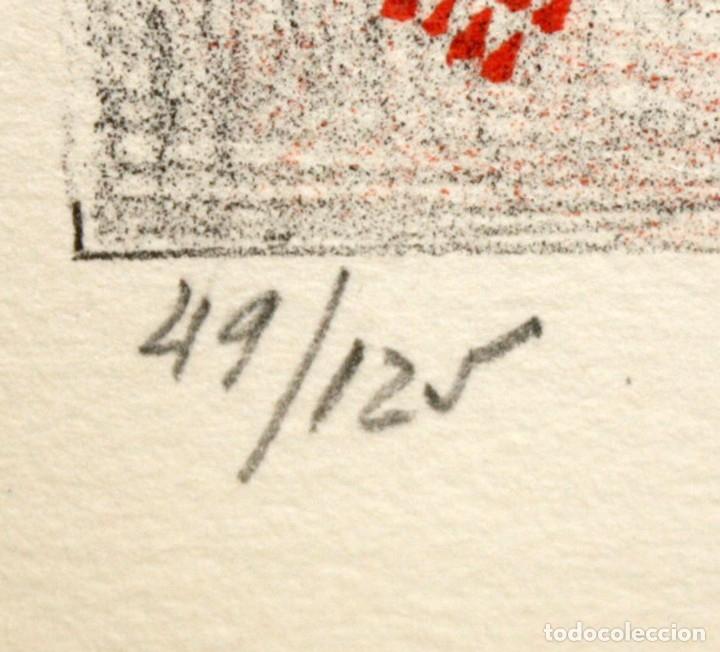 Arte: EDUARD ARRANZ BRAVO (BARCELONA, 1961) LITOGRAFIA ORIGINAL FIRMADA A LÁPIZ. TIRAJE: 49/125 - Foto 7 - 174432030