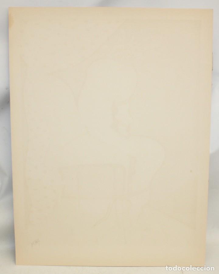 Arte: EDUARD ARRANZ BRAVO (BARCELONA, 1961) LITOGRAFIA ORIGINAL FIRMADA A LÁPIZ. TIRAJE: 49/125 - Foto 8 - 174432030