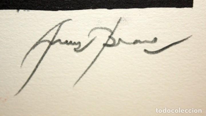 Arte: EDUARD ARRANZ BRAVO (BARCELONA, 1961) LITOGRAFIA ORIGINAL FIRMADA A LÁPIZ. TIRAJE: 49/125 - Foto 4 - 174432107