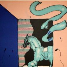 Arte: EDUARD ARRANZ BRAVO (BARCELONA, 1961) LITOGRAFIA ORIGINAL FIRMADA A LÁPIZ. TIRAJE: 49/125. Lote 174432208